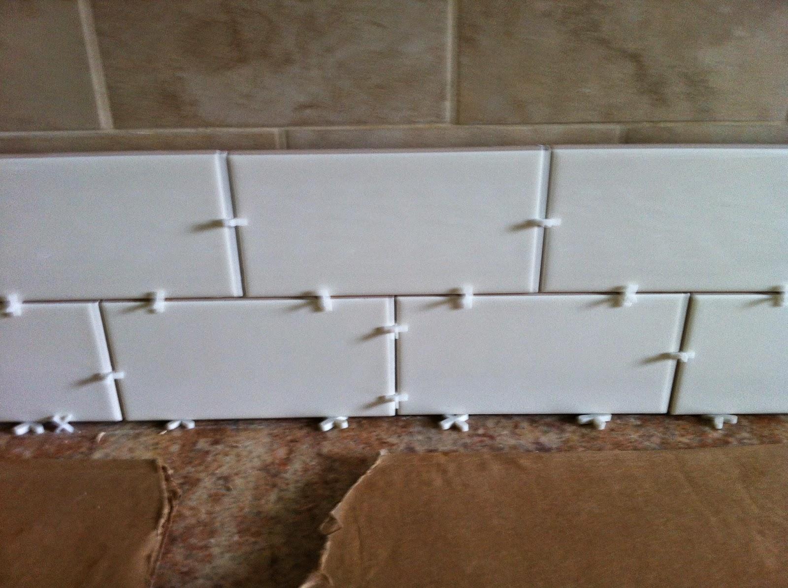 tiling over tile subway tile backsplash