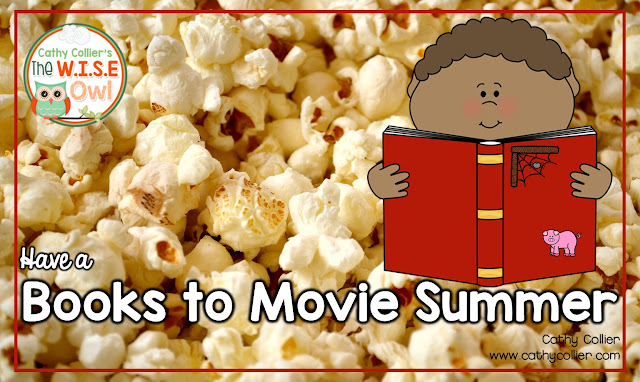 "Everyone likes the summer...but no one likes summer slide. How can we get parents involved without creating ""summer homework?"" Let's watch movies. A Books to Movies Summer might just be the answer."