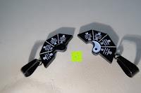 oben: UM Schmuck Rostfreier Stahl Puzzle Paare Halskette fur Sie und Ihn Tai Chi Yin Yang Teilt Anhanger