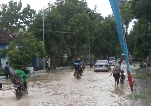 Hujan semalaman, Lima desa di Kecamatan Kwadungan Ngawi terendam banjir