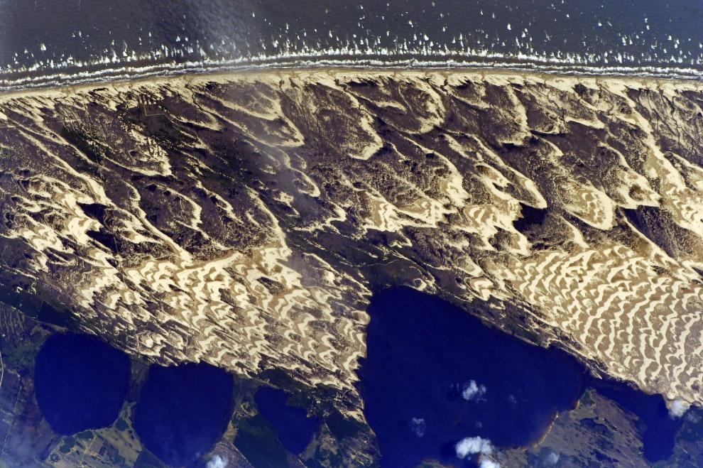 Крымский мост из космоса. И другие виды из космоса