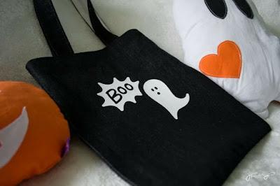 Halloween-Plotterdatei: Boo und Gespenst