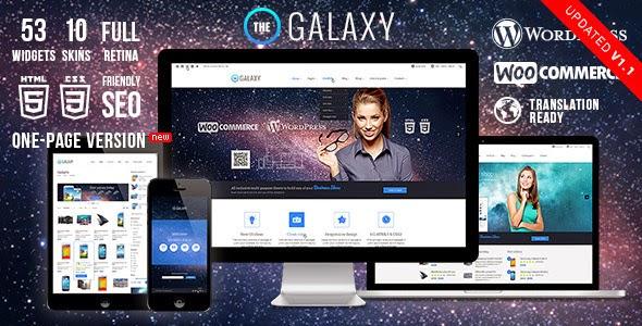 Galaxy WP Responsive Multi-Purpose WordPress Theme