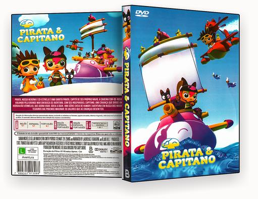 CAPA DVD – Pirata & Capitano – ISO