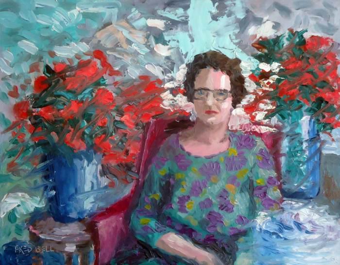 Портреты и фигуративная живопись. Fred Bell