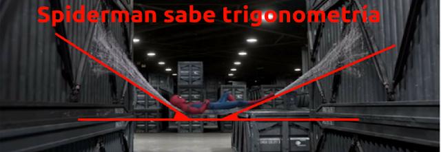 spiderman sabe trigonometría es un ABP para Matemáticas 4º ESO