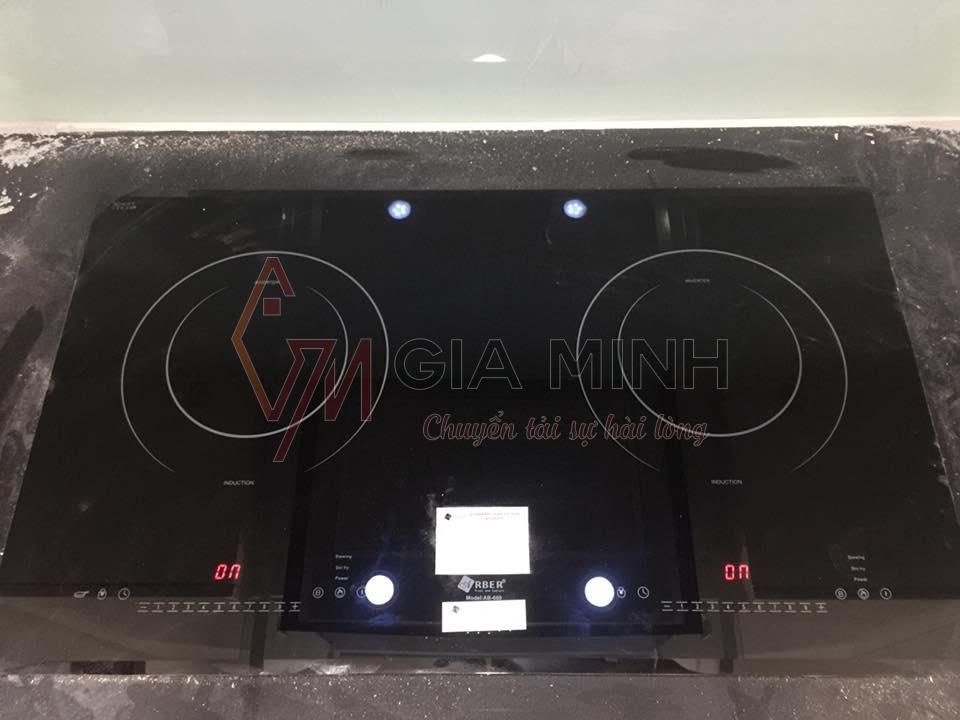 Hình ảnh thực tế combo: Bếp từ Arber AB 660 + Máy hút mùi Arber AB 701SL