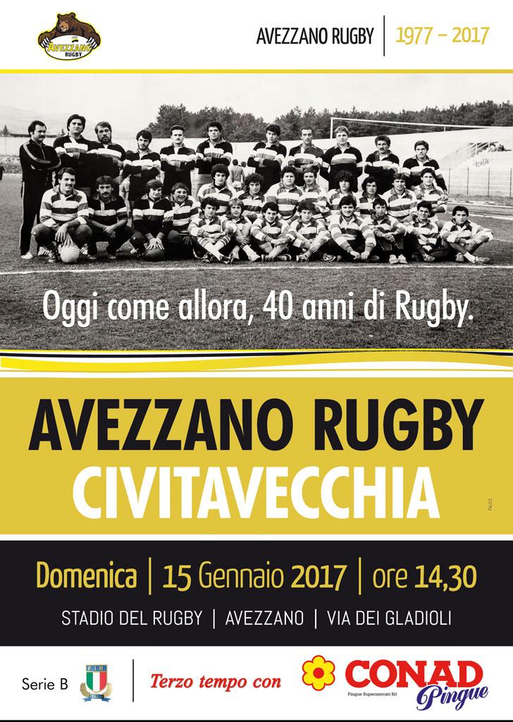 Quarantennale Avezzano Rugby