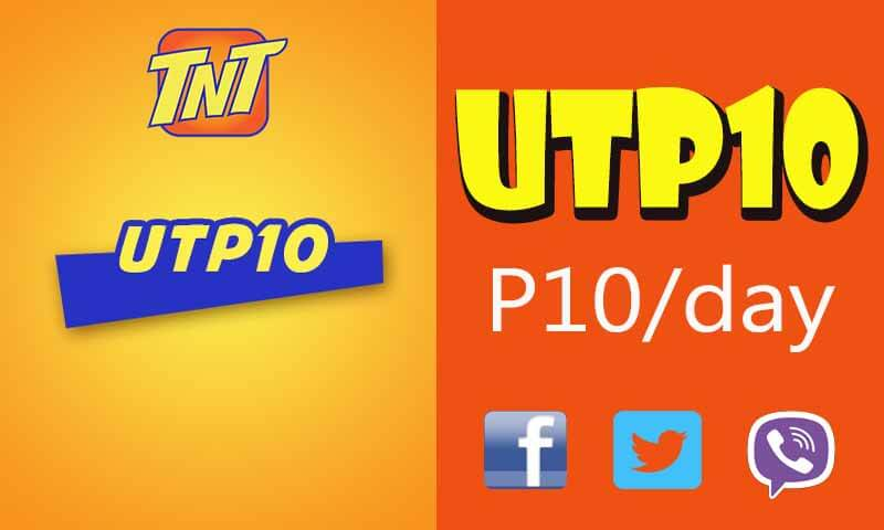 Talk N Text UTP10 Unlitext Plus Internet for FB, Twitter and Viber Promo
