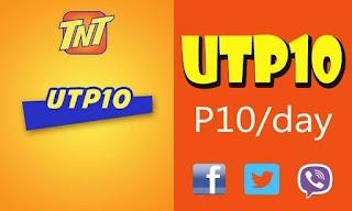 TNT UTP10 - Unlitext Plus Internet for FB, Twitter and Viber Promo