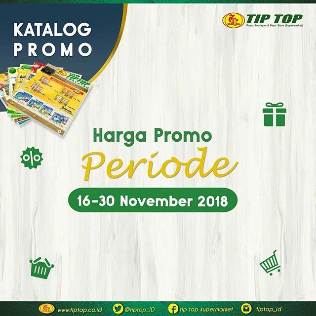 TipTop - Promo Katalog Periode 16 - 30 November 2018