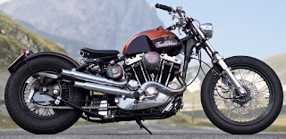 trouble head sportster ironhead by officine rossopuro side right