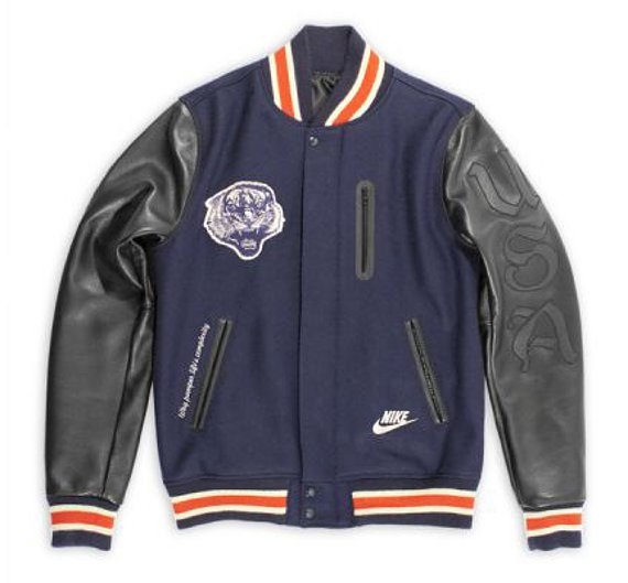 LooKatTheeSe: Nike Sportswear Destroyer Jacket – Army VS. Navy