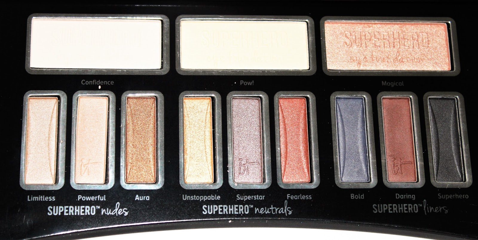 It Cosmetics Superhero Eyeshadow Palette Review