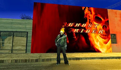 Mod Dinding Ghost Rider