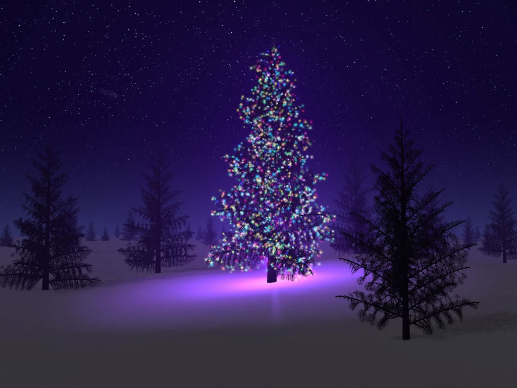picturespool  xmas tree wallpapers
