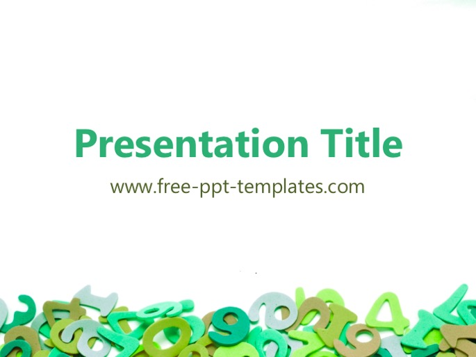Maths powerpoint templates amitdhull maths powerpoint templates pronofoot35fo Images