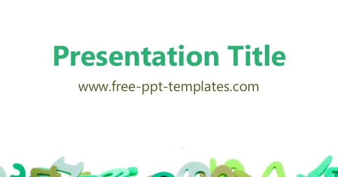 math ppt template, Modern powerpoint