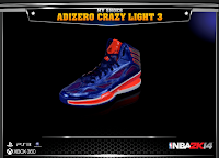 NBA 2K14 Adidas Adizero Crazy Light 3