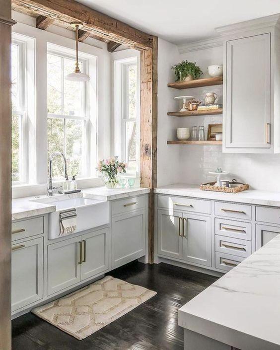 Stunning White Kitchen Design and Decor Ideas