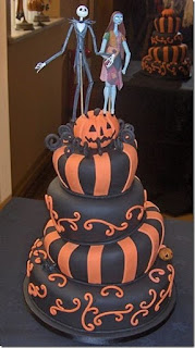 Pumpkin Halloween Wedding Cakes