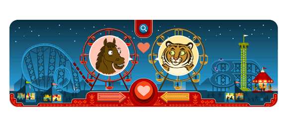 Valentines day and george ferris 154th birthday