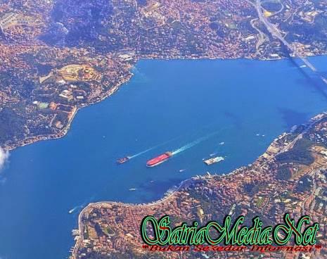 Pemandangan Dua Sisi Kota Istanbul