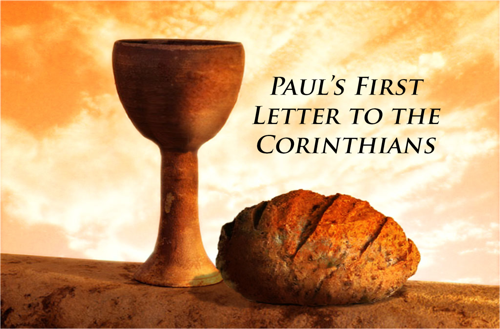 Contemplatives in the World: Lecture Seven: Paul's First Letter to