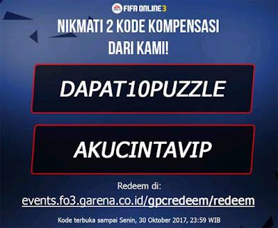 Kode Redeem Fifa Online FO3 Terbaru 2017