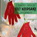 How to Sew a Felt Keepsake Ornament