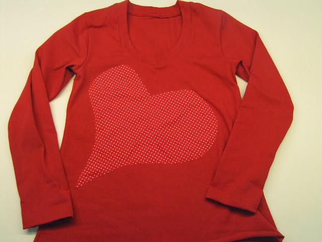 Camiseta mujer plantain aplicación corazón