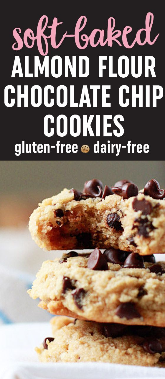 These bendy melt-in-your-mouth gems are an incredible gluten-free, dairy-free, and low-carb alternative to traditional chocolate chip cookies.
