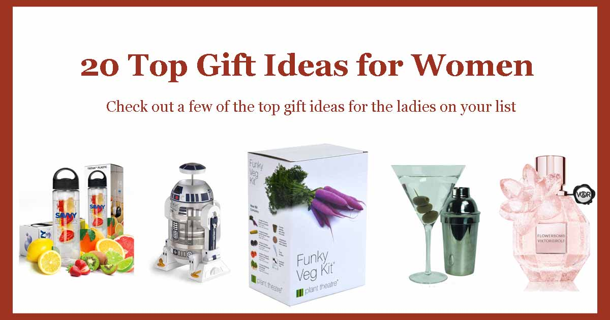 Unique And Funky Gifts 20 Top Gift Ideas For Women