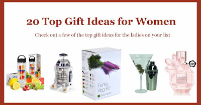Check out these 20 top gift ideas for women