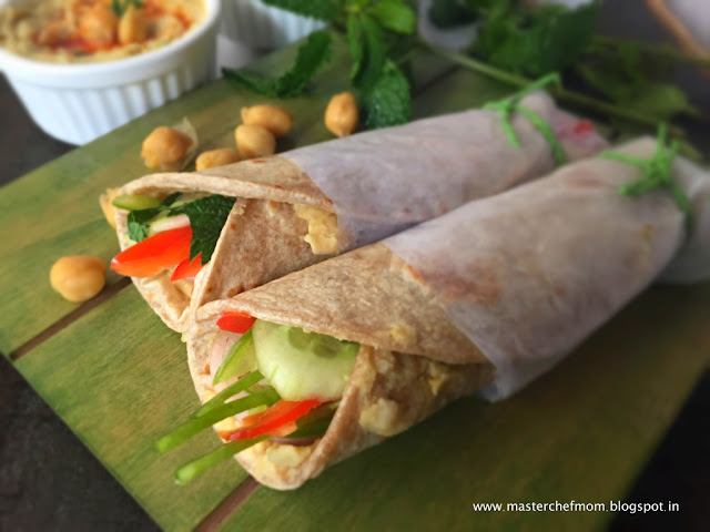 Lebanese Wrap | How to make Lebanese Wrap At Home |  Vegan Recipe |