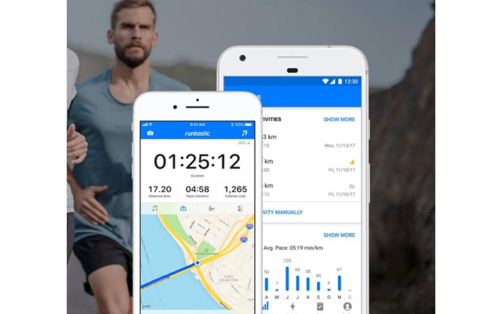 Abnehmen mit Lauf-Apps Runtastic App