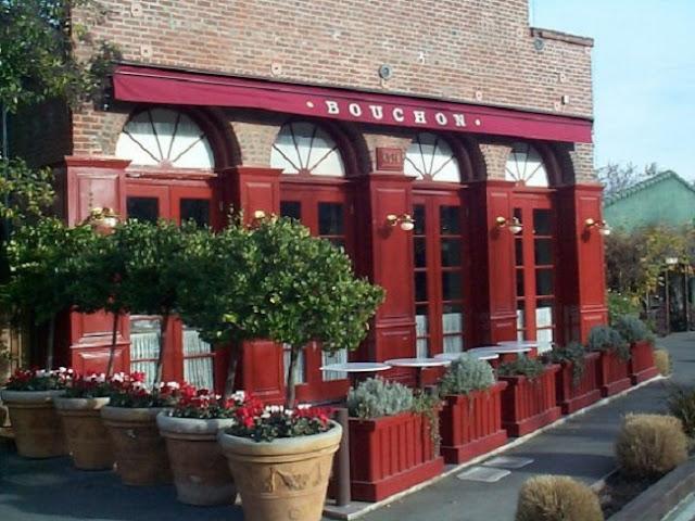 Restaurante Bouchon Bistro em Napa Valley