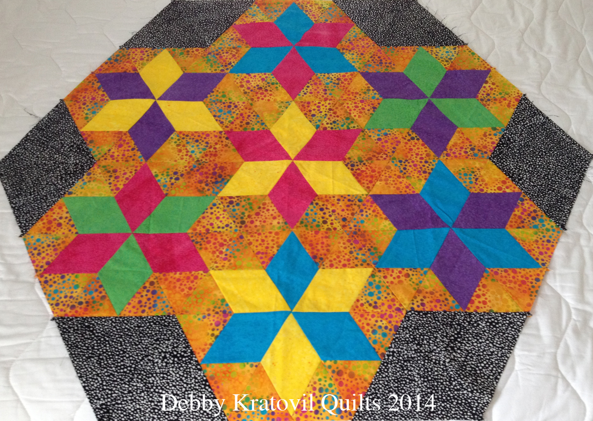 Debby Kratovil Quilts Diamonds And Triangles