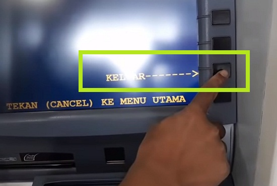 Langkah Ketiga Tarik Uang Lewat ATM Mandiri 3