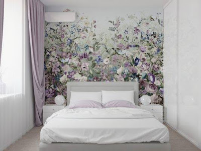 Modern wallpaper design ideas for bedroom wall decoration 2019