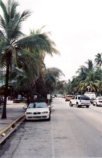 You Gotta Stay Loose Looking North On Ocean Drive.