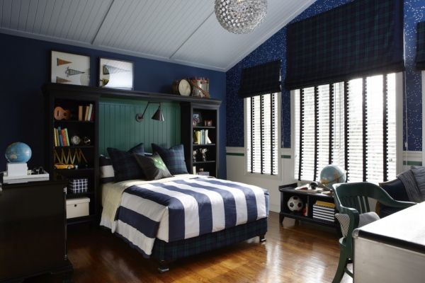 5 cool contemporary boys bedroom the grey home - Cool teen boy rooms ...