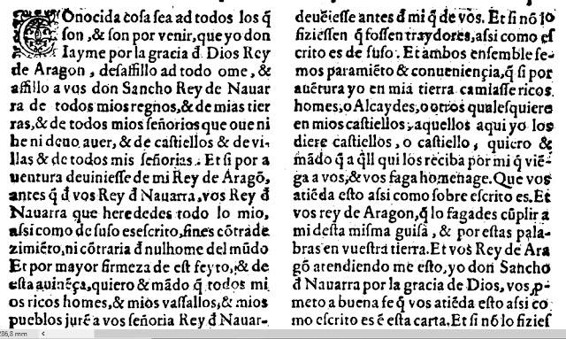 Sancho de Navarra, Jaime I, concordia, adopción