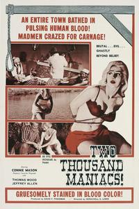 Watch Two Thousand Maniacs! Online Free in HD