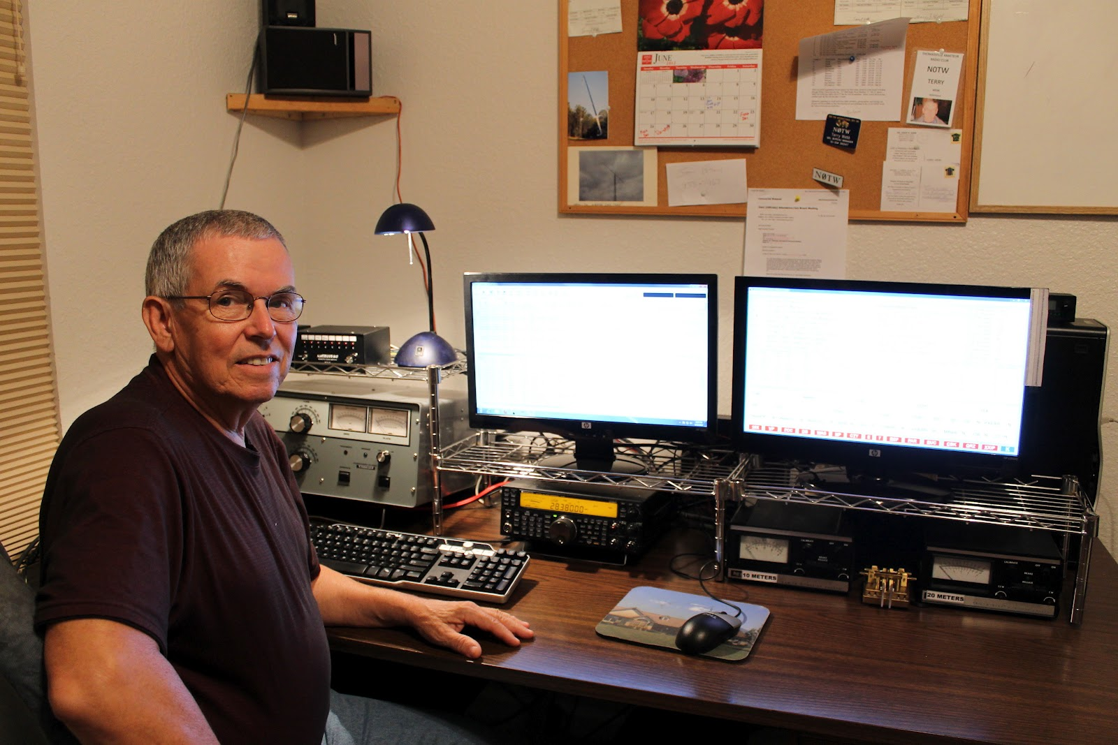 Amateur Radio Station Wb4omm: Welcome To Our Home: Updated Ham Radio Station