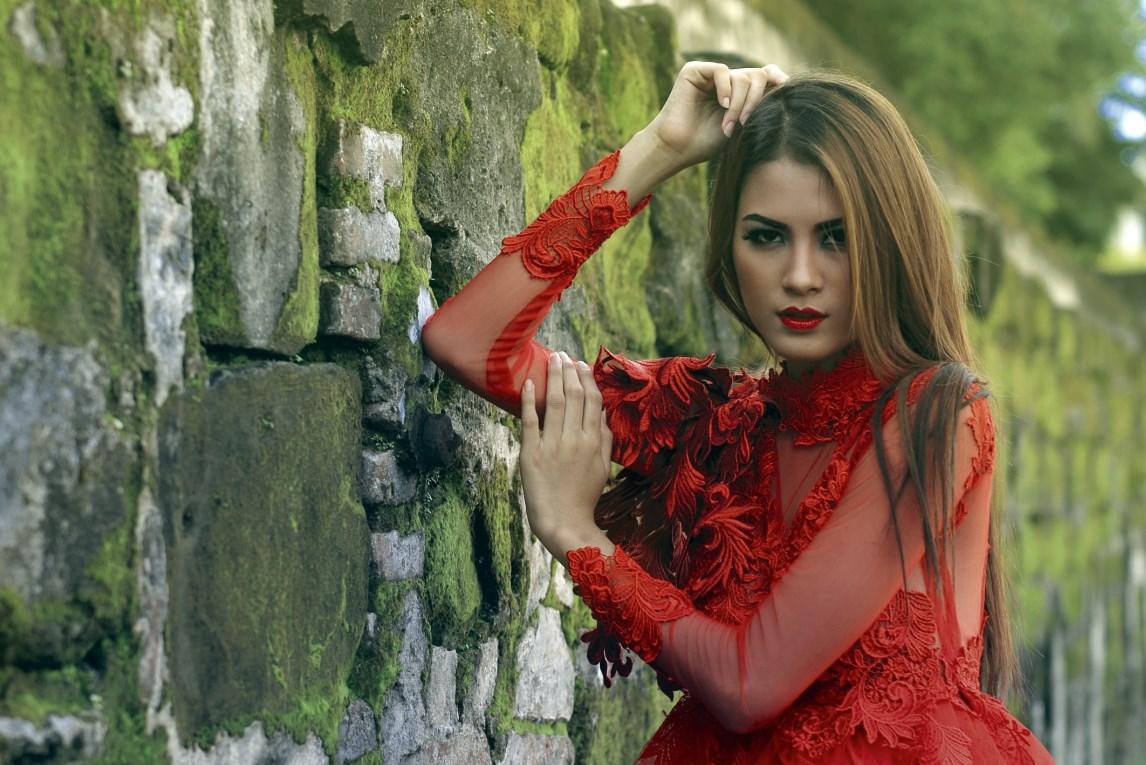 Hunting konsep foto model cantik igo Cinta Rarung model rambut