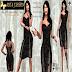 ART & FASHION - BLACK PRECIOUS DRESS