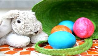Coniglio Pasqua per bambini piccoli