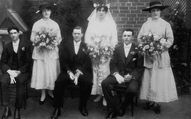 1917 wedding of John Michael Galvin and Grace Walmsley Payne