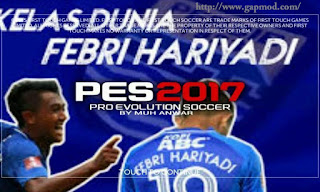 FTS Mod PES 2017 by AnWaR Apk + Data Android